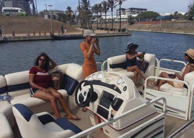 ladies-fun-pontoon-cruise-druban-waterfront